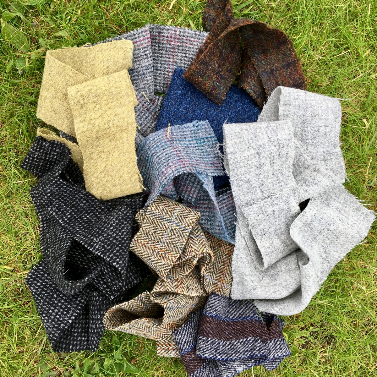 Tweed on the machair