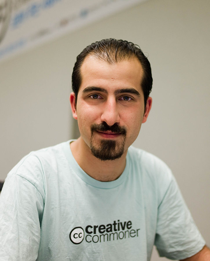 """Bassel Khartabil (Safadi)"" by Joi Ito - http://www.flickr.com/photos/joi/4670781482CC BY 2.0"