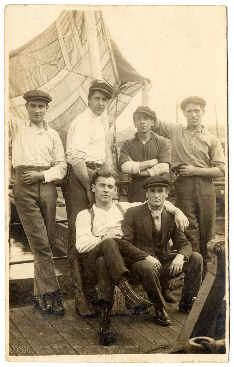 Shipmates Tough and Tender. Italy c. 1925. Casas-Rodríguez Collection, CC BY NC ND 3.0