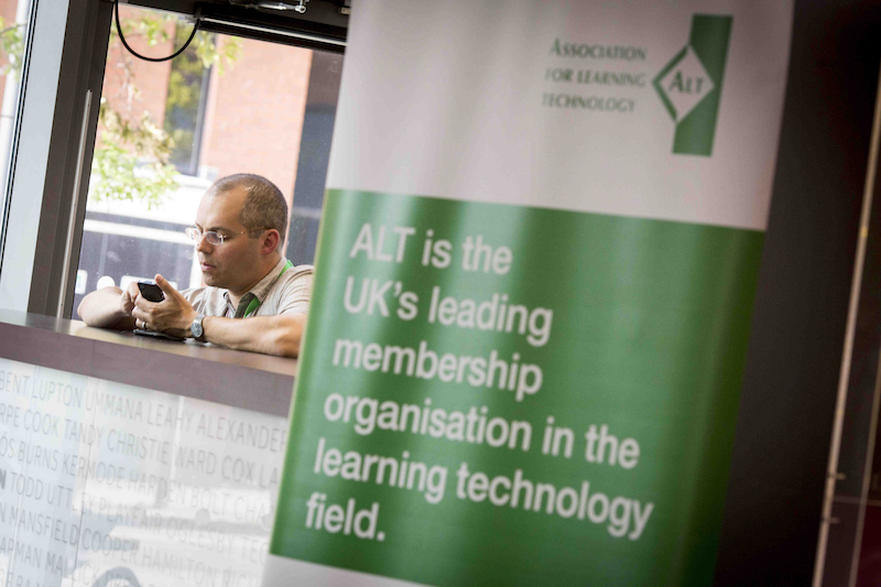 Richard Goodman at ALTC 2015, CC BY, Chris Bull