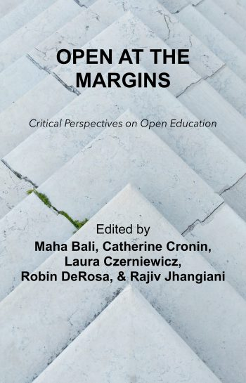 Open at the Margins book cover